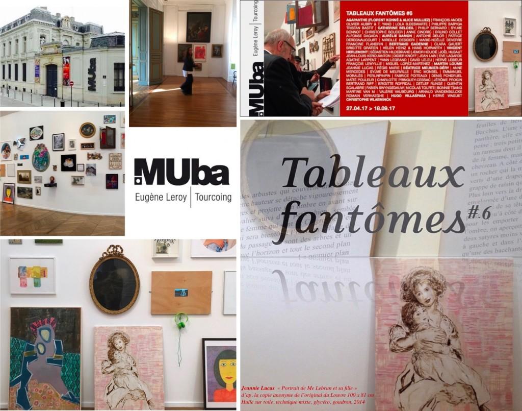 Volet # 6 de la thématique « Tableaux fantômes » ou les tableaux disparus du musée de Bailleul, Musée des Beaux-Arts de Tourcoing, MUBA, juin/septembre 2017