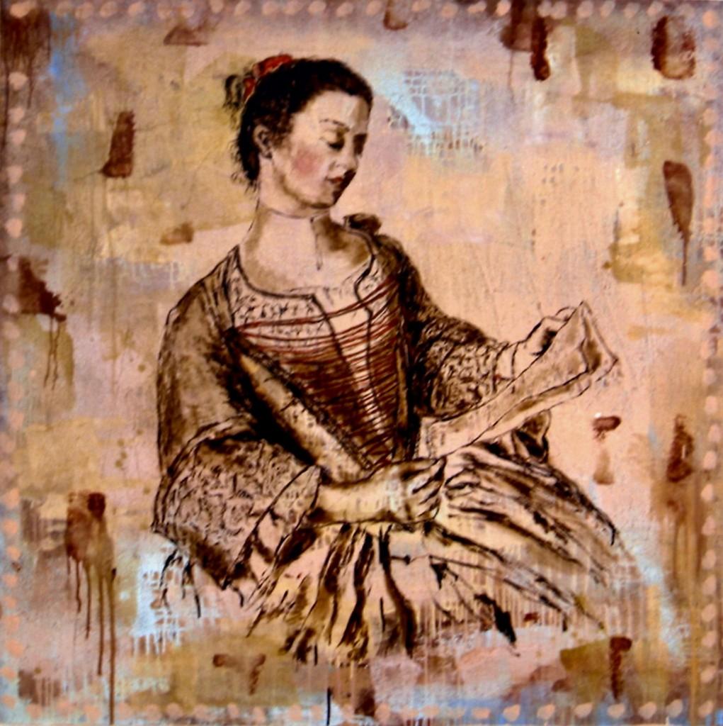 Mademoiselle Lavergne, d'ap. Jean-Etienne Liotard,
